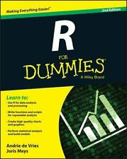 R For Dummies by de Vries, Andrie; Meys, Joris