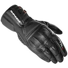 SPIDI TX-1 GLOVES Summer Sport-Touring Leather Vented Gloves Black XX-Large