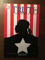 Truth #1 First Printing Original 2003 Marvel Comic Book 1st Isaiah Bradley