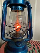 Converted Vintage Hurricane Storm Lamp Lantern PAT Tested  Candle Bulb Chalwyn