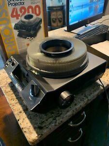 Kodak Carousel Projector 4200