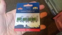 OO Gauge Bachmann Scenecraft 44-567 Coolant Trolleys (x4) Model railway building