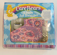 Vintage Care Bears 4pc. Sheet Set FULL Size TV Movie New Sealed!! 2004