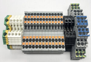 Panel Board Cable Din Rail Connector Terminal Block Weidmuller Phoenix Contact