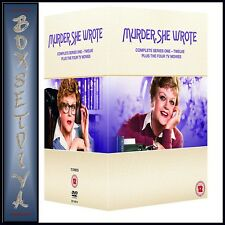MURDER SHE WROTE COMPLETE SERIES 1 2 3 4 5 6 7 8 9 10 11 & 12 PLUS 4 MOVIES*NEW