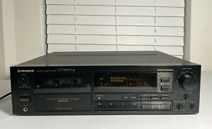 Pioneer CT-S600 Auto-Reverse Stereo Cassette Deck with Dolby B/C and HX-Pro Test