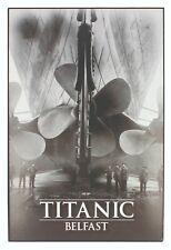 Titanic Propellers Medium Wooden Sign 200mm x 300mm (sg)