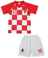 Kit Short + Maillot de Football Enfant CROATIE - 2019 -