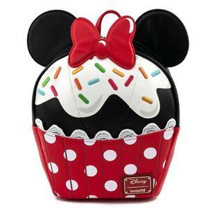RARE - Loungefly Disney Minnie Mouse Sprinkle Cupcake