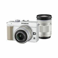 Excellent! Olympus E-PL1S 12.3MP with 14-42mm + 40-150mm White - 1 year warranty