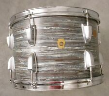 60's  LUDWIG KEYSTONE 9x13 BLUE OYSTER MOUNTED TOM DRUM