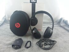 Beats by Dr. Dre Solo3 Wireless Over the Ear Headphones - Gloss Black - USED