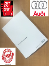 AUDI SERVICE BOOKS COVERS ALL MODELS 2016 - 2021 PETROL AND DIESEL RS3 RS4 RS5