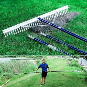 LONG REACH LAKE RAKE for Aquatic Weeds and Beach Cleaning