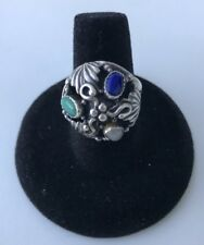 Vintage Sterling Silver Turqouise Ring