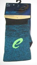 ASICS~SMALL (6-7.5)~ZK3178~Black/Thunder Blue fuzeX Graffiti Cushion Crew Socks