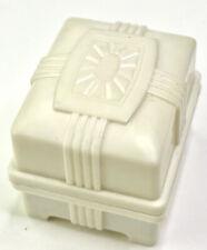 Vintage Plastic Jewelry Presentation Ring Box