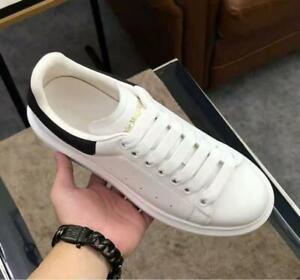 Alexander McQueen Men's small white shoes new spring and autumn men's thick sole