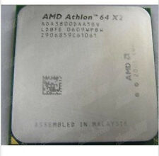 used 1pc AMD Athlon 64 X2 3800+ 2 GHz Dual-Core Processor Socket AM2 940pin