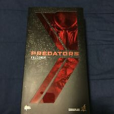 "Hot Toys Predators Falconer Predator  MISB 14""  Action Figure Brand New Sold Out"