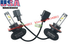 H13 9008 LED Headlight CSP Kit Bulb 8000LM 72W Hi/Lo Beam 6500K 2pcs