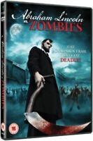 Abraham Lincoln vs Zombies DVD NEW Horror Gore Gift Idea