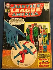 Justice League Of America #14 Sept 1962 The Atom