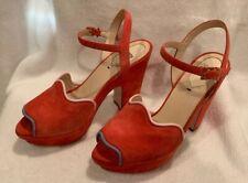 Fendi Waves Suede Platform Sandals($800), 36.5 Us 6.5