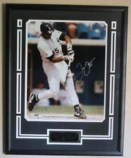 Frank Thomas Signed Chicago White Sox 16x20 Photo Framed UDA Limited 37/500