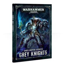 Codex Grey Knights Warhammer 40k 8th BOOK NEW
