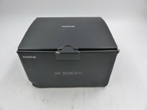 FUJIFILM X100V F FX-X100V B-US DIGITAL COMPACT CAMERA BLACK 26:1MP