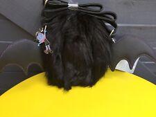 DISNEY STORE EXCLUSIVE VAMPARINA VAMPIRE BAT BAG BNWT + Keyring