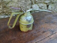 Collectable Vintage Brevettato Half Pint Green Oil Can - Made In Italy