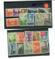 Scott National Parks 10 Stamp Set Perf And Unperf Lot Of 2 Mnh 9104K
