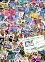 US STAMPS  - Over 1000+ Used ALL Different UNITED STATES STAMP Collection!