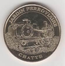 -- 2006 COIN TOKEN JETON MONNAIE DE PARIS -- 38 160 JARDIN FERROVIAIRE CHATTE