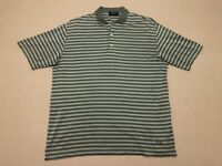 HUGO BOSS MENS POLO SHIRT ~ SIZE MEDIUM ~ EXC COND SHORT SLEEVES STRIPES DESIGN