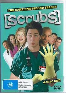 Scrubs DVD - The Complete Second Season 2 - TV Series - FREE POST!