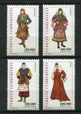 31173) TURKEY 2002 MNH** Women Clothing T. 4v.