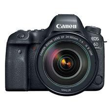 Canon EOS 6D Mark II Full Frame 26.2MP DSLR Camera with EF 24-105mm II USM Lens
