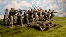 Armies in Plastic North Africa (1900) Arab Warriors 1/32 Scale 54mm grey