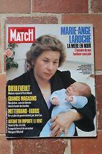 Paris Match 1908 Dieuleveult Laroche Bonnaire Attentat 1985