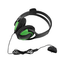 Wired Headset Headphone Earphone Microphone for Gaming PC Chat XBOX360 S2 JU