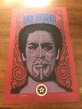 Ben Harper Maori Print - LE Signed By Gary Houston