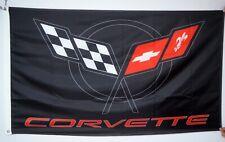 Chevrolet Corvette C5 3x5Ft Flag racing Banner US Seller