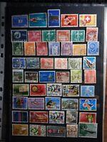 Schweiz Helvetia Timbres Stamps Briefmarken Sellos