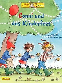 Conni-Bilderbücher: Conni und das Kinderfest von Schneid...   Buch   Zustand gut