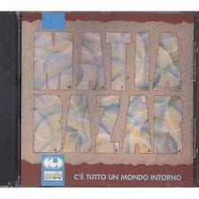 MATIA BAZAR - C'e' tutto un mondo intorno - ANTONELLA RUGGIERO CD 1989 SEALED