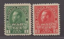 **Canada, SC# MR1-MR2 MNH VF Complete Set, CV $120.00