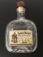 Vintage rare Captain Morgan Private Stock new design bottles